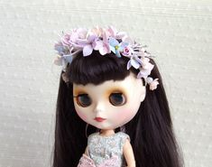 Blythe flower crown