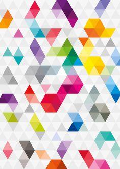 Triangular Pattern by KarolisKJ on DeviantArt Geometric Patterns, Abstract Geometric Art, Geometric Designs, Tile Patterns, Pattern Art, Abstract Pattern, Geometric Shapes, Print Patterns, Triangular Pattern