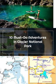 Adventures in Glacier National Park Alaska Travel, Travel Usa, Best Vacations, Vacation Trips, Oh The Places You'll Go, Places To Travel, Yellowstone National Park, Camping Gear, Camping Hacks