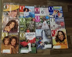 12 Oprah Winfrey Harpo magazines tv host on Mercari Oprah Winfrey, Magazines, Make It Yourself, My Favorite Things, Tv, Happy, Journals, Television Set, Ser Feliz
