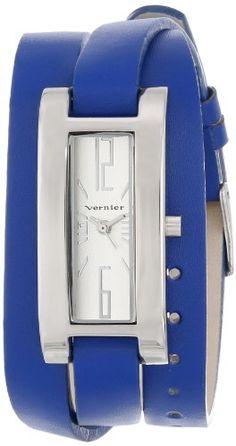 Vernier Women's VNR11156BU Vernier Analog Display Japanese Quartz Blue Watch Vernier Fashion Accesory Amazon ~ $22.50