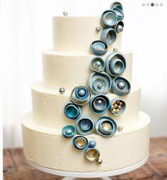 Nine Cakes, unique wedding cakes, unusual wedding cake design, Colorado wedding cake ideas