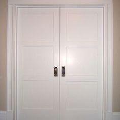 Double Pocket Doors Going Into New Bedroom