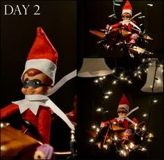 Elf On The Shelf Ideas...pilot!