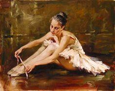 Andrew Atroshenko Before the Dance Painting