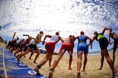 Mooloolaba Triathlon - on your marks! Sports Training, Sunshine Coast, Event Calendar, Basketball Court, Travel, Training, Viajes, Destinations, Traveling