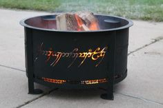 What!! Aaron and I so need this fire pit for our future house!!