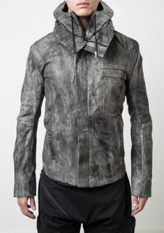 Delusion Riot Leather Jacket
