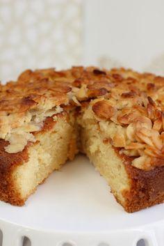 Toscatårta- swedish almondcake (Rachel Allen)