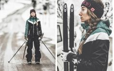 KME Studios - Michael Müller Photographer, Sportsphotography, Sport Photos, women with ski equipment #sport #photography