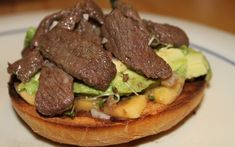 Open-Faced Bagel with Venison Recipe   Outdoor Channel