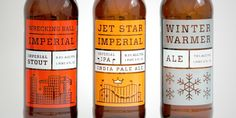 SOOO awesome. #beer #bottle #branding by Riley Cran for No-Li Brewhouse