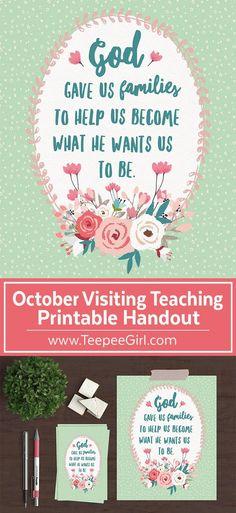 october 2016, visiting-teaching-handout