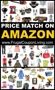 How to Save Money by Price Matching on Amazon!