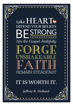 Quotes about strength lds faith ideas for 2019 Lds Quotes, Quotable Quotes, Great Quotes, Prophet Quotes, Gospel Quotes, Pastor Quotes, Lds Memes, Motivational Quotes, Mormon Quotes