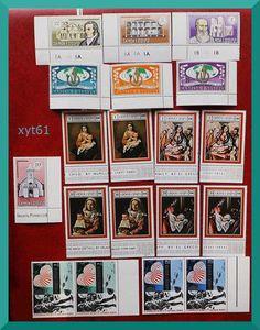 Samoa bright fresh mint stamps