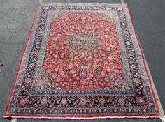 "Red Mahal rug, 9'6"" x 12'6"" Available in our December 13th Catalog   #rugs #rug #runners #mahalrug #mahal"
