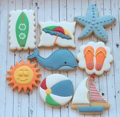 Summer cookies by Miss Biscuit
