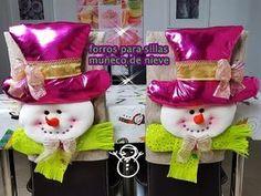 Visita la entrada para saber más Christmas Chair, Christmas Sewing, Christmas Crafts, Christmas Ornaments, Felt Ornaments, Christmas Angels, Christmas Time, Christmas Stockings, Xmas