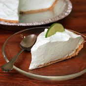 Greek Yogurt, Lime and Honey Pie, Recipe from Cooking.com