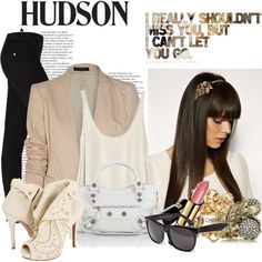 HUDSON & Georgia May Jagger Style Inspiration, created by maah2.polyvore.com