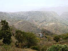 Juste avant d'arriver à Boa Entrada. Santiago - Cap Vert