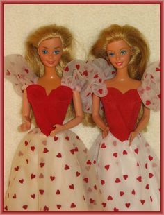 1980s Barbie Dolls- they were my OBSESSION