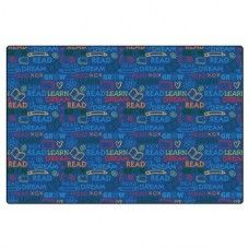 Kids Rugs: Read to Dream Pattern Rug - 8' x 12' Rectangle