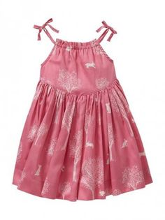 Bunny Print Sundress @babycenter