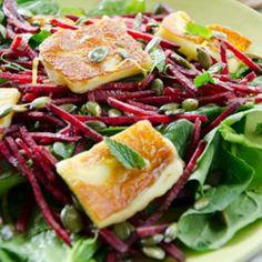 ... halloumi cheese on Pinterest | Grilled halloumi, Halloumi salad and