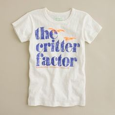 The critter factory- helps the Gulf Coast