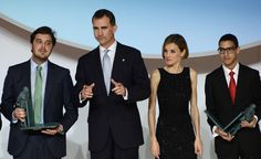 His Majesty King Felipe VI and Queen Letizia host the Prince of Girona awards June 26, 2014