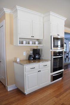 Solana James AKBDs Design Ideas, Pictures, Remodel, and Decor - page 2  Microwave wall