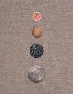 many moons // stella maria baer paintings