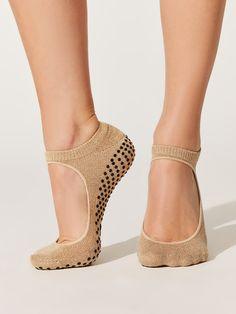 Sweet Cool Feet Socks Leg Warmers + Socks in Champagne Gold by Shashi from Grip Socks, Foot Socks, Barre Socks, 50 And Fabulous, Female Feet, Gold Fashion, Fashion Shoes, Swagg, Leg Warmers