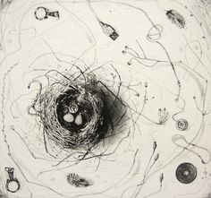 Etching, the seduction of impermanence | by fiona watson art