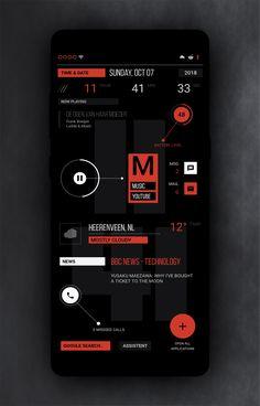2018 Android App Design, Mobile App Design, Mobile Ui, Word Design, Game Design, Ui Design, Stephen Hawking, Studio App, App Design Inspiration