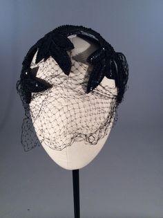 1950s Simpson's sequin covered headband