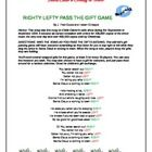 FREE Santa Claus is Coming to Town Pass the Christmas Gift Game. A Christmas game that's fun and teaches the concept of left and right. Just print . Work Christmas Party Ideas, Christmas Games To Play, Holiday Games, Preschool Christmas, Xmas Party, Christmas Holidays, Christmas Ideas, Christmas Gifts, Cookie Exchange