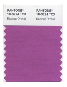 Radiant Orchid is a captivating and adaptable shade that enchants the complete spectrum. #FashionColorReport #Fall2014