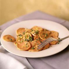 Oven-Fried Sweet Potatoes Recipe | MyRecipes