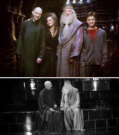 voldemort, bellatrix, dumbledore, potter. LOVE IT!