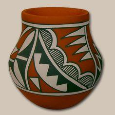 Southwest Indian Pottery | Contempoarary | Jemez Pueblo | Mary ...