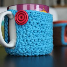 Free Pattern: Mug Coaster Cozy