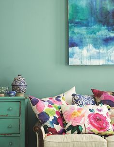bright bazaar by Will Taylor photographed by Andrew Boyd-bedroom colors?