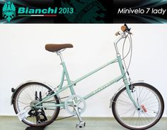 BIANCHI MINIVELO 7 LADY 2013