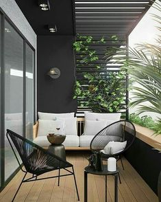 These are your beloved balkon design in the world Apartment Balcony Decorating, Apartment Balconies, Cozy Apartment, Apartment Living, Find Apartment, Rustic Apartment, Apartment Ideas, Best Interior, Interior And Exterior