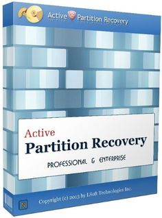 Active Partition Recovery 18 Crack is an efficient tool which is used for recovering the lost data of hardware failure and accidentally deleted by broken disks.