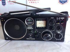 Details about panasonic rf 1130 am/fm/shortwave multiband radio from matsushita…
