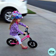 Teach a Kid to Ride a Bike Using a Strider Balance Bike